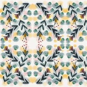 Floral Tartan