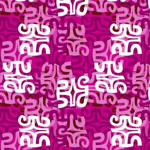Swanky Mo Hot Pink