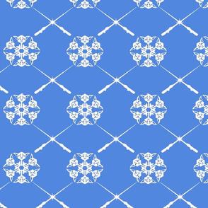 Yoda Saber Snowflakes