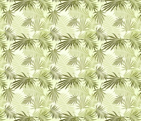 SUBTLE PALMS fabric by bluevelvet on Spoonflower - custom fabric