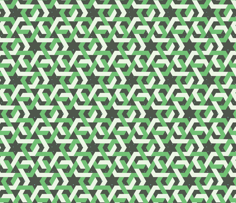 Wintergreen Weave fabric by lunova_labs on Spoonflower - custom fabric