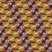 Roses On Burgundy