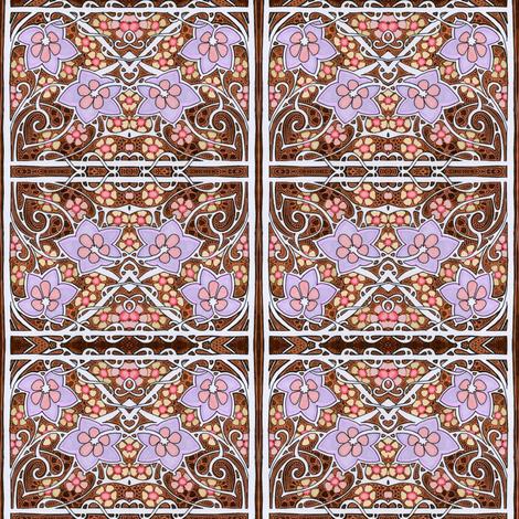 Flower Box of Swirls fabric by edsel2084 on Spoonflower - custom fabric