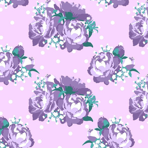 Peonies (purple)