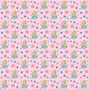 Starry Angel Lamb Pink