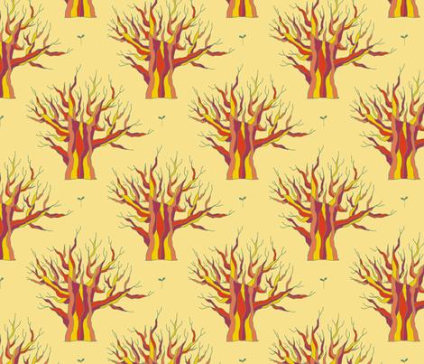 Elder (Eternal Sunshine) fabric by seesawboomerang on Spoonflower - custom fabric
