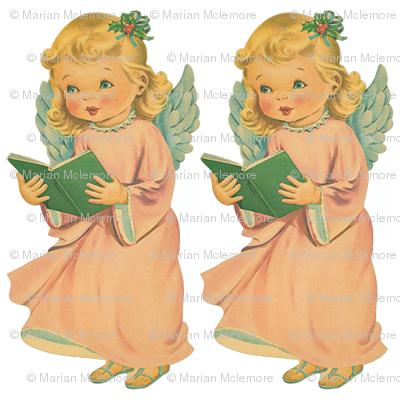 Choir Angel White