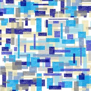 Watercolor Mosaic Tile