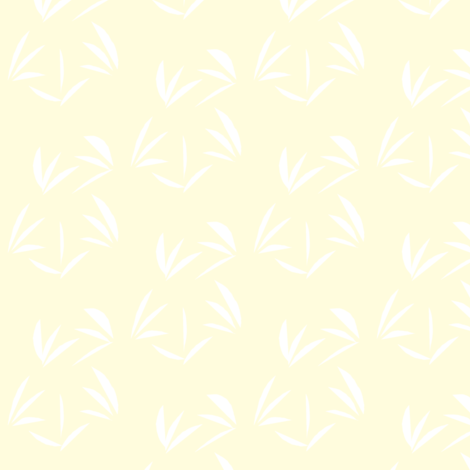 Snowy White Oriental Tussocks on Magnolia Cream fabric by rhondadesigns on Spoonflower - custom fabric