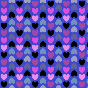 Heart Journey in mauve