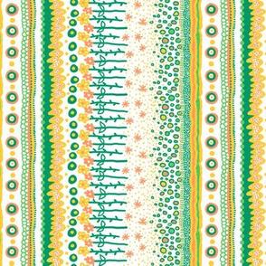 Blossom: Flower Garden Stripe