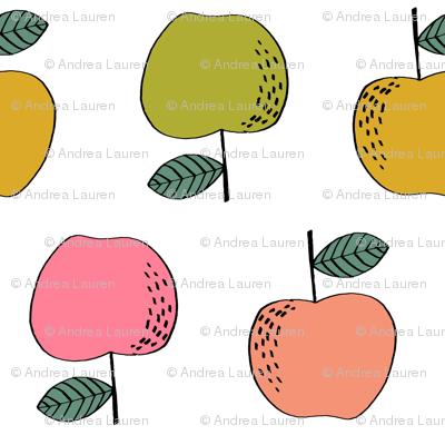 apples // apple kids fruit fruits fall autumn