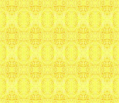 Lemon and Orange Frosting fabric by rhondadesigns on Spoonflower - custom fabric