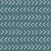 Arrows on Turquoise - Small