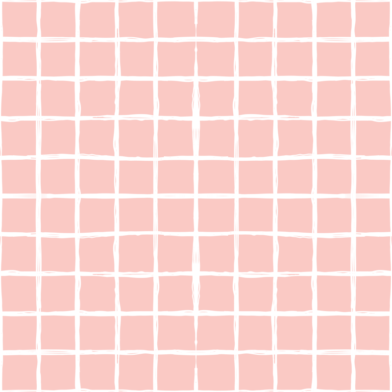 Abstract Geometric Peach Pink Square Checkered Stripe Trend Pattern