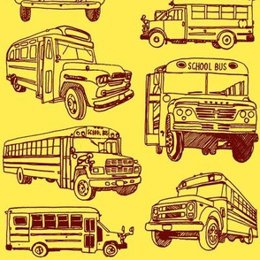 Here Comes the School Bus