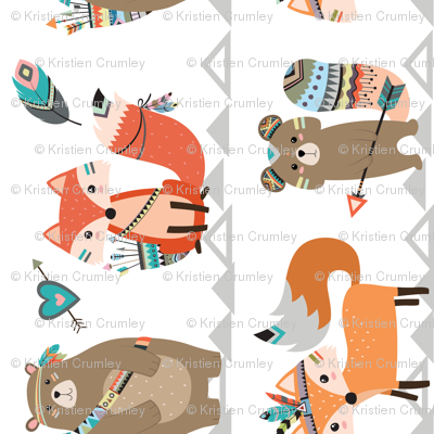 Tribal Woodland Creatures