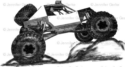 Rockcrawler RC Race Car Offroad