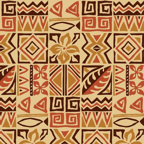 Tiki Tapa Cloth