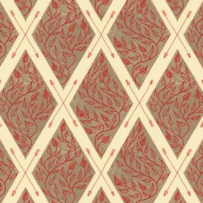 Wildwood Emblem in Rosewood
