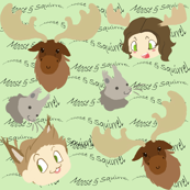 Supernatural Moose and Squirrel cute