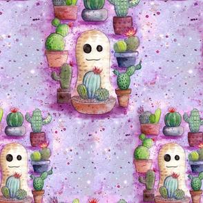 Peaburt with Cactus