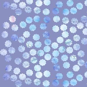 periwinkle dewdrops