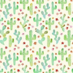 Watercolor Cacti