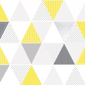 Pattern Play Triangles // Lemon