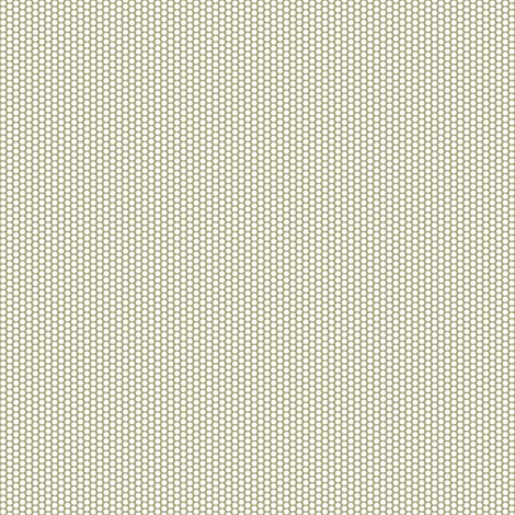 Pollen Dots - Taupe on White fabric by rhondadesigns on Spoonflower - custom fabric