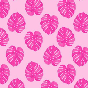 palm tropical pink watercolor palm print tropical palm leaves palm print cute
