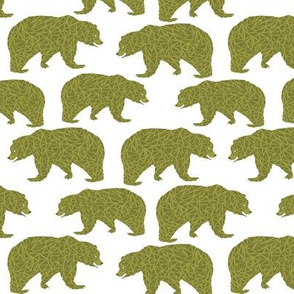 bear bears kids olive green green bear boys nursery