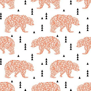 bear bears l'ours kids boys nursery boys orange