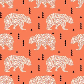 bear bears geo geometric boy boys nursery