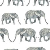 elephants watercolor white nursery baby kids nursery sweet watercolor elephants