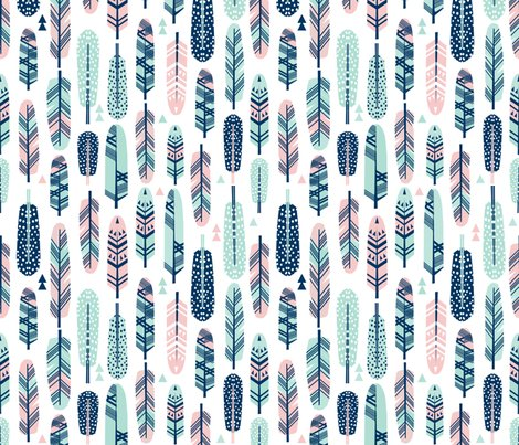 Rfeathers_pink_mint_navy_shop_preview