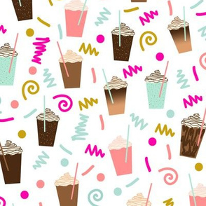 coffee iced coffee latte summer cute party