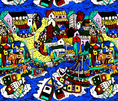 Rspoonflower_fishing_village_shop_preview