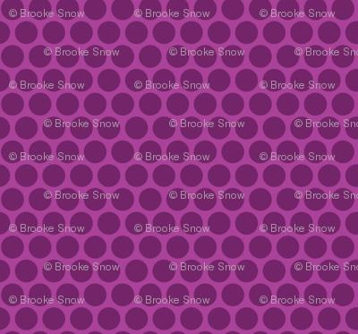Grape Tone Honeycomb Dot