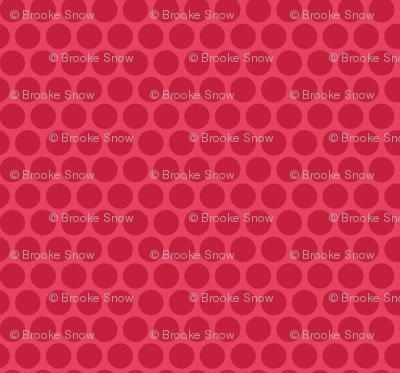 Red Tone Honeycomb Dot