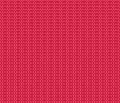 Red Tone Honeycomb Dot fabric by surlysheep on Spoonflower - custom fabric