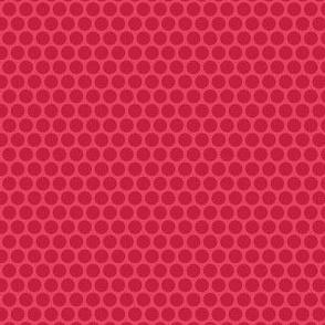 Red Tone Honeycomb Dot