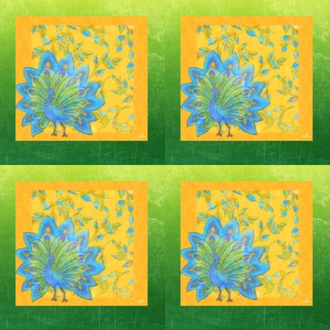 Yello Green fabric by cruzangirl on Spoonflower - custom fabric