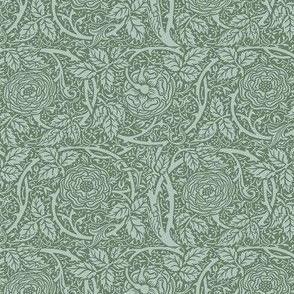 Sage Green Roses
