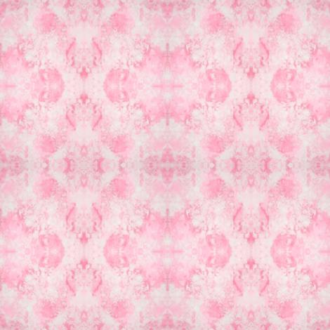 Sponged_Pink fabric by karwilbedesigns on Spoonflower - custom fabric