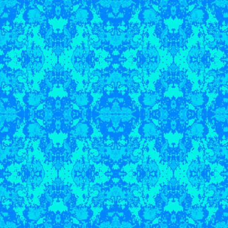 SAGE - WOD - Ocean Blue fabric by karwilbedesigns on Spoonflower - custom fabric