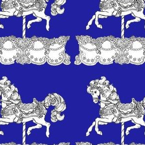 Royal Carousel; Blue