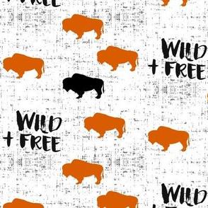 Wild + Free Buffalo