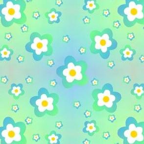 Green Rainbow Flower