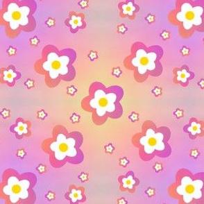 Pink Rainbow Flower